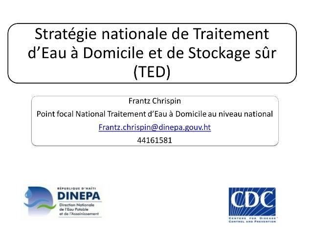 La stratégie nationale: Schéma stratégique et priorités