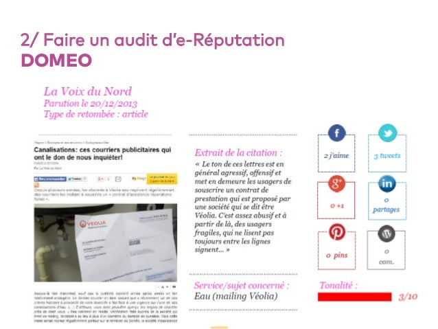 52 2/ Faire un audit d'e-Réputation DOMEO