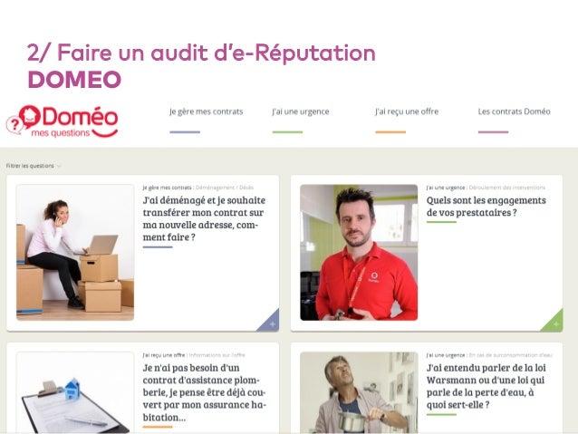 54 2/ Faire un audit d'e-Réputation DOMEO