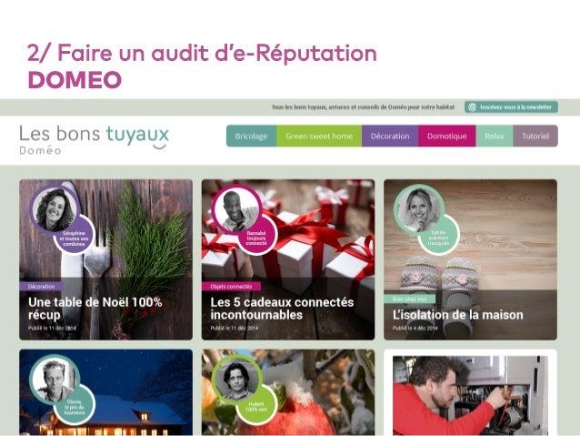 55 2/ Faire un audit d'e-Réputation DOMEO