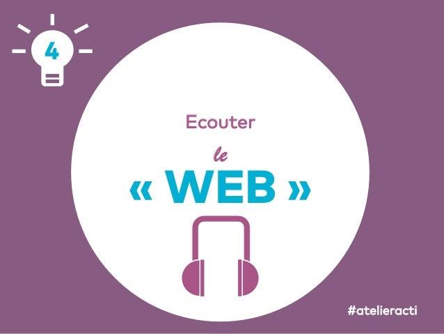 64 Ecouter le «WEB» 4 #atelieracti