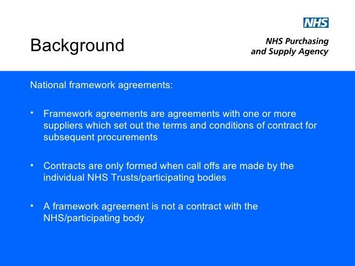Nhs National Framework Agreement For Medical Locums