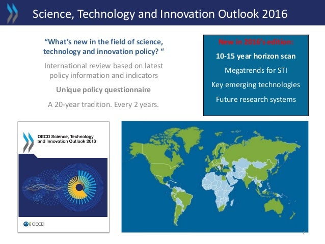 Science, Technology and Innovation Outlook 2016 - EC/OECD Launch event Slide 2