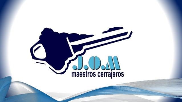 """CARTA DE PRESENTACIÓN DE JOM CERRAJEROS S.L.U. PARA """"AXA SEGUROS ESPAÑA"""". EN MADRID A 08/09/2017"""
