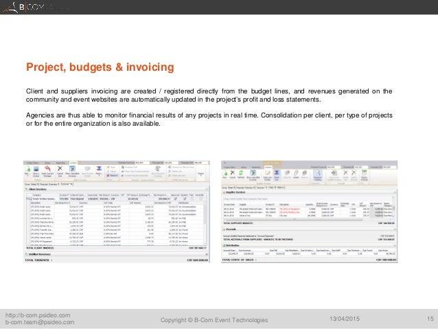 presentation b com event technologies for associations and non profit