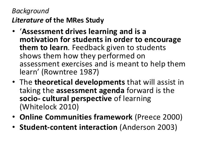 assessment for learning the case Be used for successful learning and assessment events this case study explored asynchronous online discussions, assessment processes, and the meaning graduate.