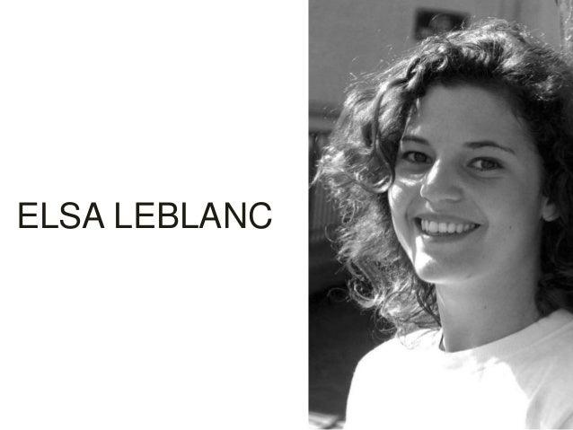 ELSA LEBLANC