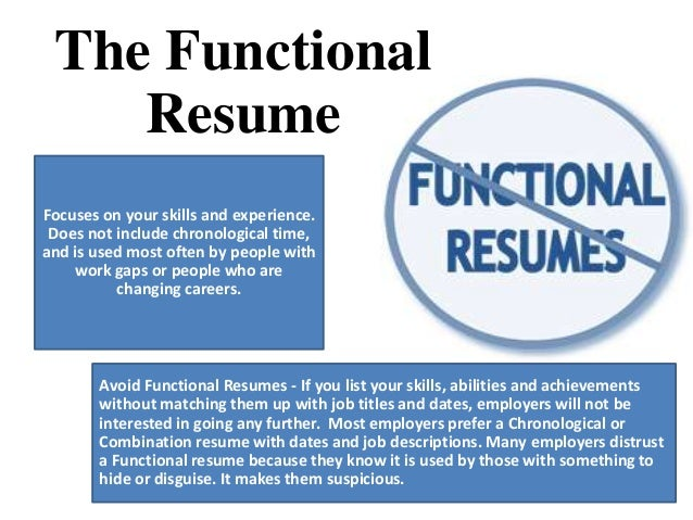 Functional Resume Advantages Create Professional Resumes Online
