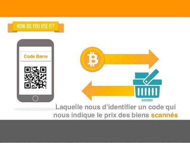 Laquelle nous d'identifier un code qui nous indique le prix des biens scannés Code Barre