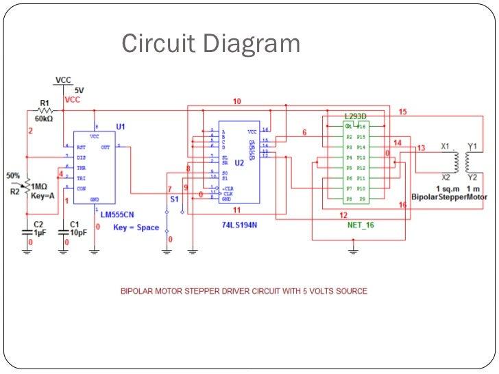 Presentation bipolar stepper motor driver circuit Step motor driver circuit