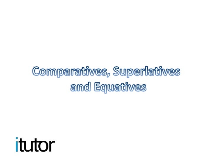 You use adjectives to make comparatives, and there are several rules to  modify these adjectives to their comparative form...