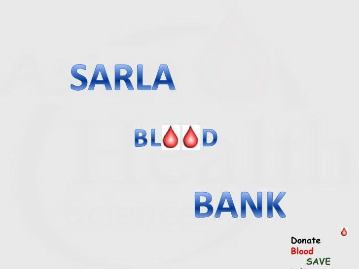 Donate Blood     SAVE