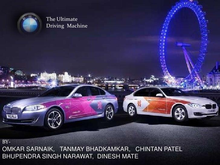 The Ultimate           Driving MachineBY-OMKAR SARNAIK, TANMAY BHADKAMKAR, CHINTAN PATELBHUPENDRA SINGH NARAWAT, DINESH MATE