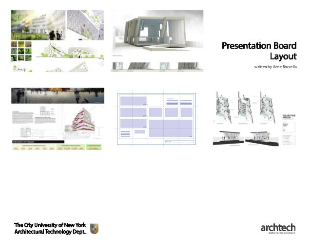 presentation board layout