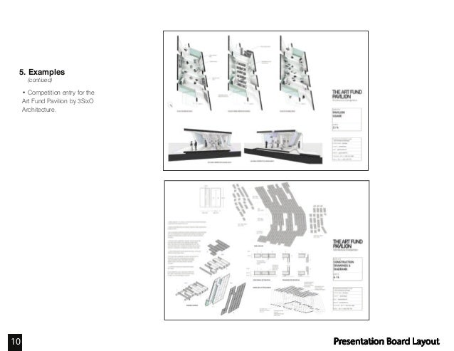 Architecture Presentation Layout Black And White - 0425