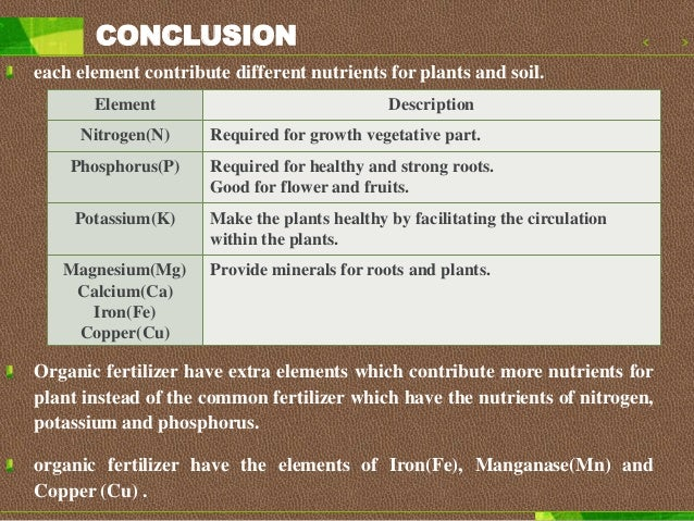 What is the advantages of organic fertilizer???? Reduce the pollution improve the structure of soil increase the ability t...