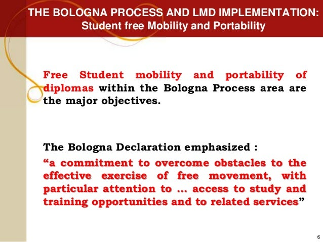 the bologna process The future of higher education – bologna process researchers' conference ( fohe-bprc3) 27-29 november 2017, bucharest the executive agency for.