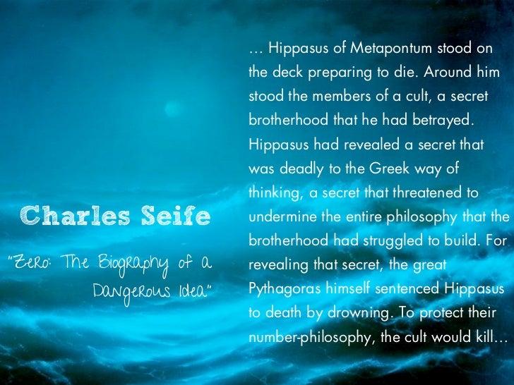 … Hippasus of Metapontum stood on                            the deck preparing to die. Around him                        ...
