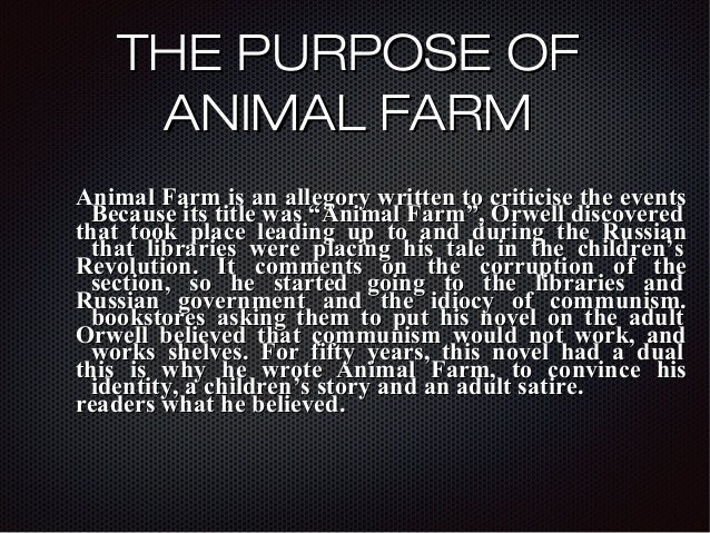 abuse of language animal farm Four legs good, two legs bad the abuse of language as instrumental to the abuse orwell takes a firm stance on the harmfulness of propaganda in animal farm.
