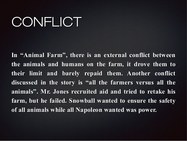 Conflict In Animal Farm Essay - image 7