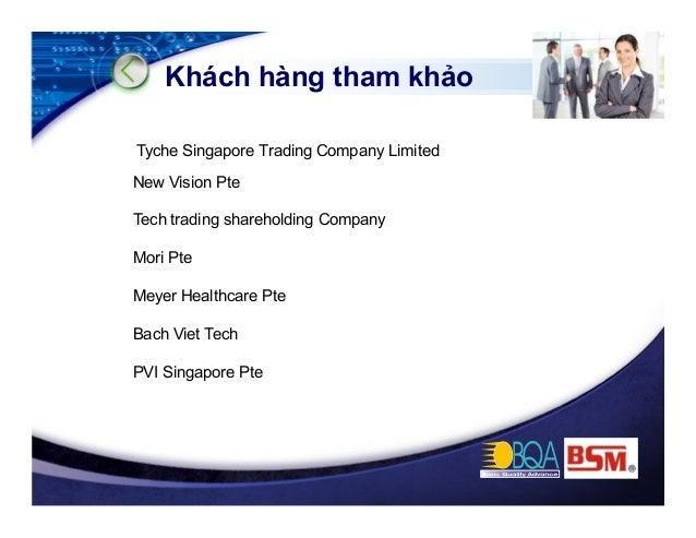 New Vision International Trading Pte Ltd