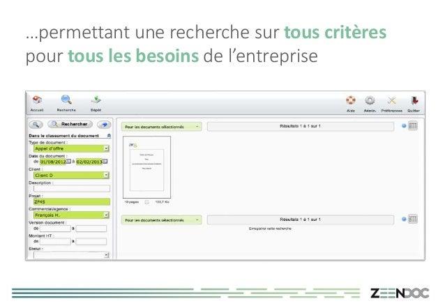 Presentation Zeedoc Par Bureau Romand