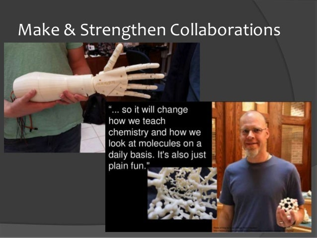 Make & Strengthen Collaborations