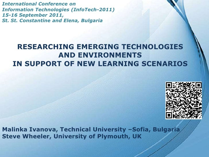 International Conference onInformation Technologies (InfoTech-2011)15-16 September 2011, <br />St. St. Constantine and Ele...