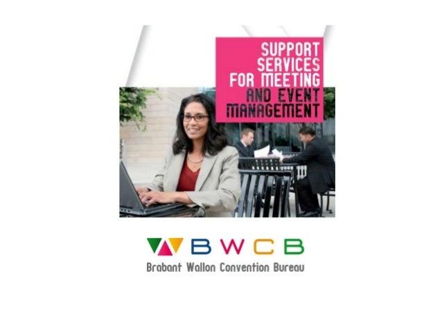 Brabant Wallon Convention Bureau- MICE Presentation