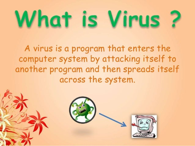 Presentation on Computer Viruses