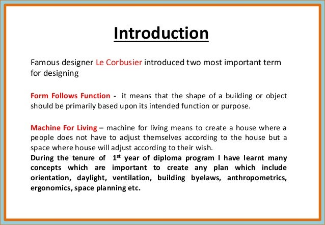 I Year Diploma Presentation by Neha assudani B.Sc. Interior Design st…