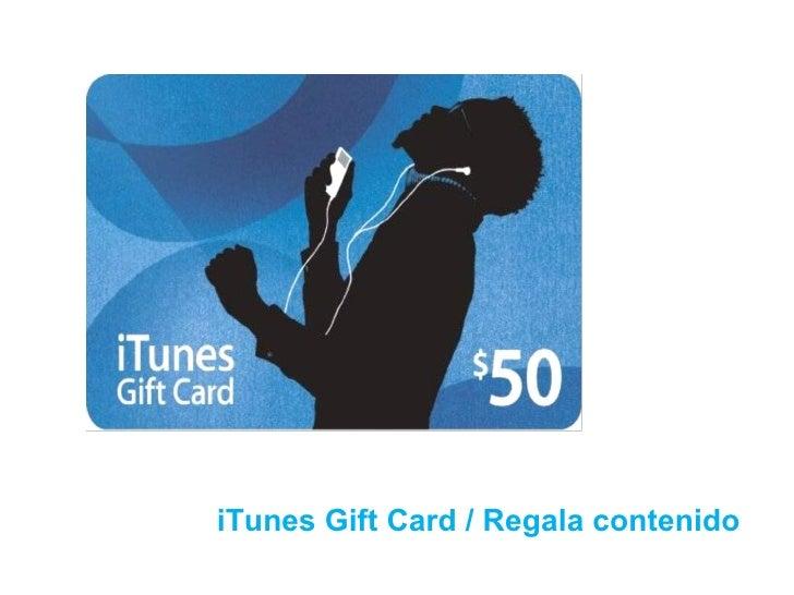 iTunes Gift Card / Regala contenido