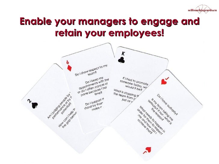 Enable your managers to engage and retain your employees!