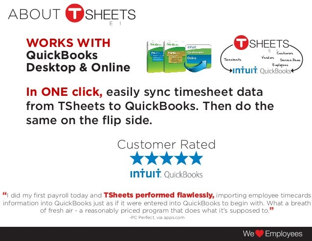 TSheets Time Tracking Solution