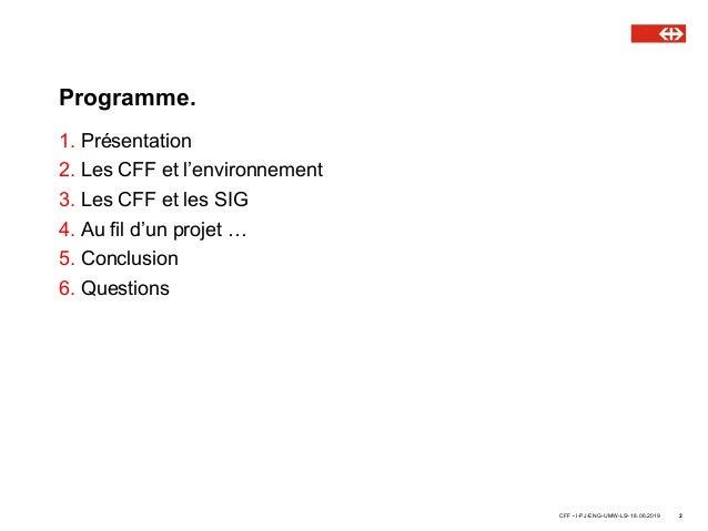 Rencontres ASIT VD : Biodiversité & Aménagement - Muriel Prisi, CFF Slide 2