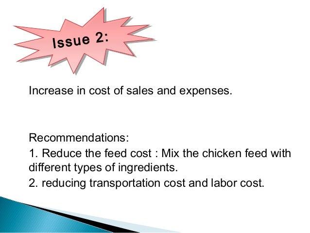 Chicken run case study on internal