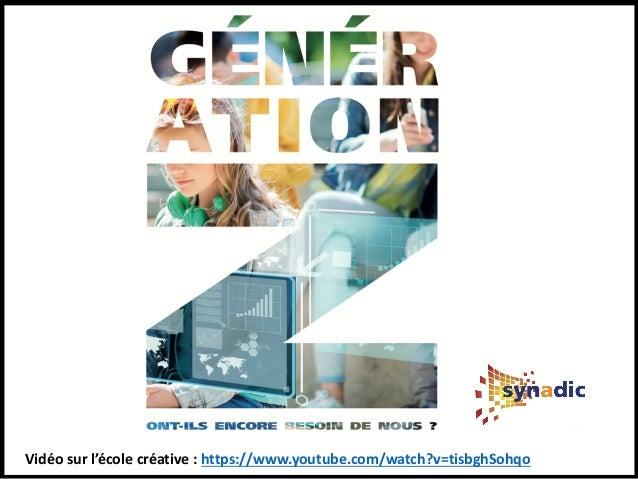 Vers une école créative et liquide - AG du Groupe Saint Jean de Rennes Slide 2