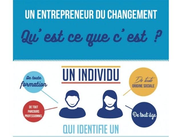 Présentation sur l'Entrepreneuriat du changement - gala Icam 2017 Slide 3