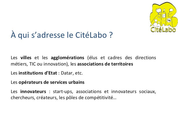 Presentation CiteLabo DoitCity Slide 3
