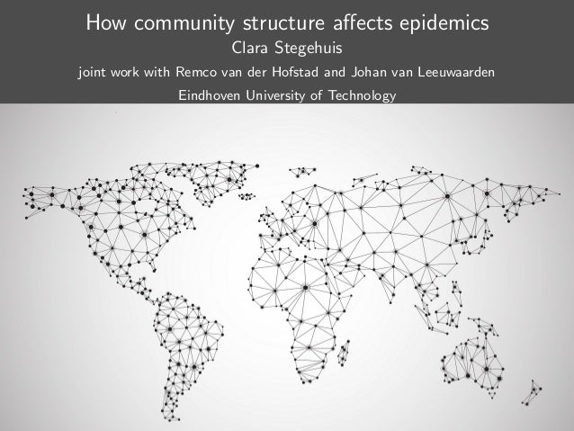 How community structure affects epidemics Clara Stegehuis joint work with Remco van der Hofstad and Johan van Leeuwaarden E...