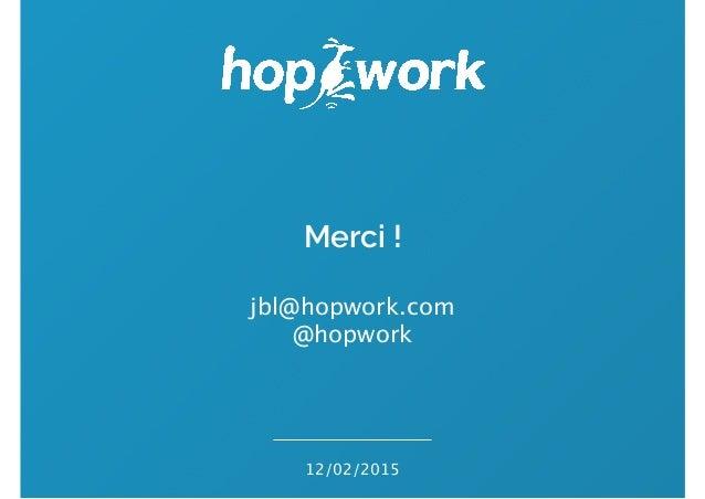 Premiers pas en freelancing - HopWork - Jean Baptiste