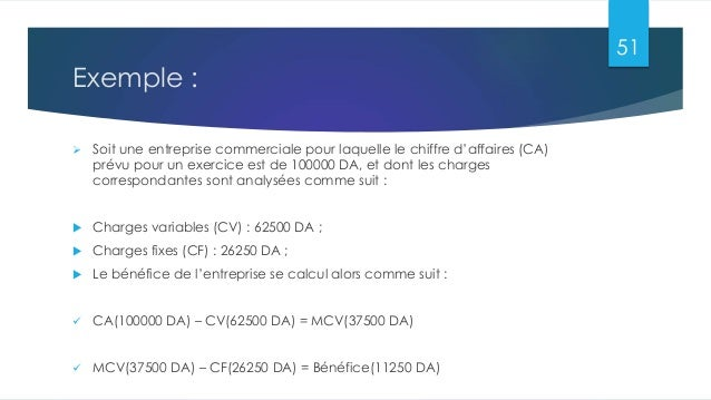 les co u00fbts de la comptabilit u00e9 analytique