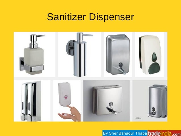 Beau Sanitizer Dispenser By Sher Bahadur Thapa ...