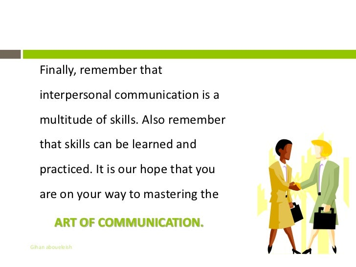 Presentation & Communication Skills