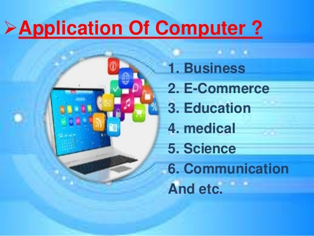 computer application in business 6 days ago  computer applications as computers penetrate further into the realm of business , many activities which were previously manual have become.