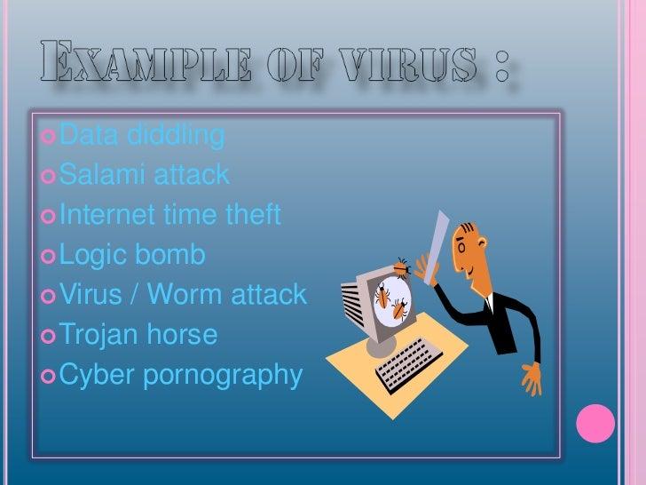 Presentation Virus Salami Attack And Trojan Horse