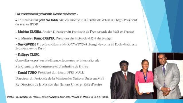 Conf rence africaine sur le protocole la diplomatie et - Liste des cabinets d expertise comptable au senegal ...