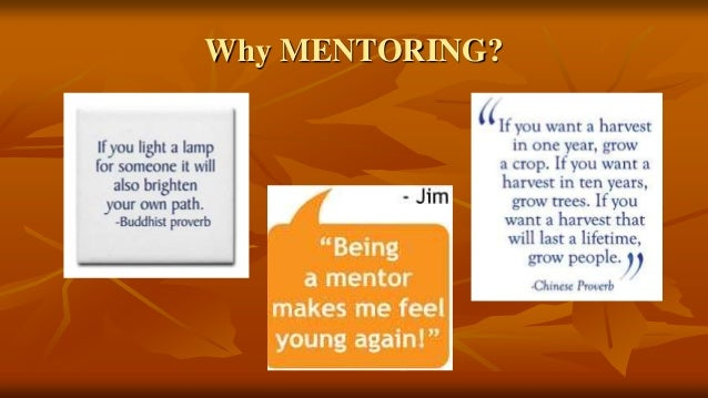 u0026quot mentoring is a two