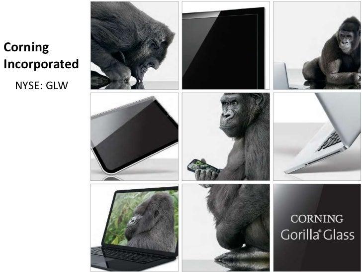 CorningIncorporated NYSE: GLW               Corning Inc.                 (GLW)                  NYSE