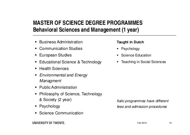 master thesis utwente mb